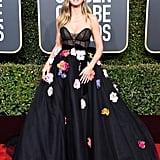 Heidi Klum at the 2019 Golden Globes