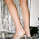 UO Diana Diamante Strappy Heels