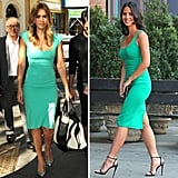 Both Jessica Alba and Olivia Munn made the case for green sheath dresses this week — and you can get in on the celebrity-approved style when you shop CelebStyle's favorite pieces.