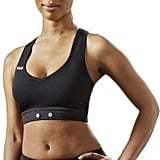 Another option for a seamless wearable experience: the MYZONE Sports Bra ($70). While the monitor is also sold separately, this low-impact bra can attach to the MYZONE MZ-3 module and sync to your phone to give you your fitness data in one place.