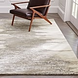 White Walkers: Birch Neutral Wool-Blend Abstract Rug