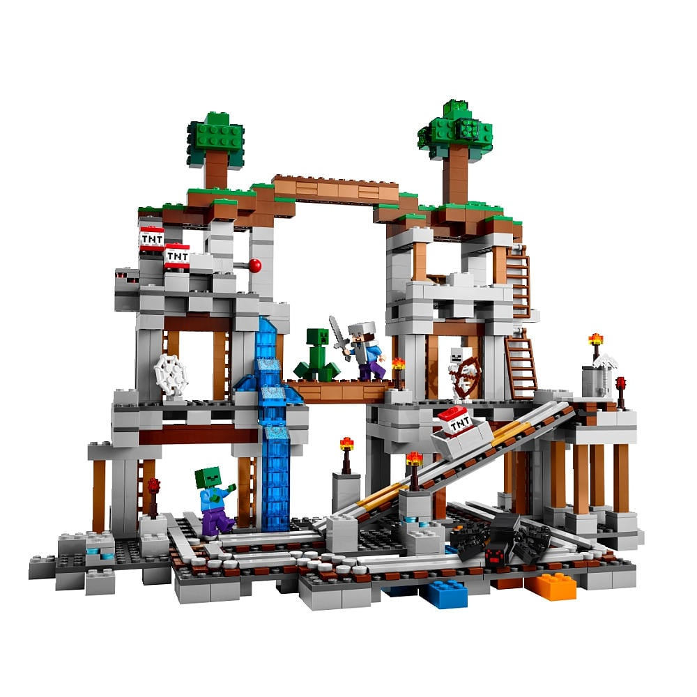 For 9-Year-Olds: Lego Minecraft The Fortress