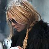 Mary-Kate Olsen Steps Out With Her Elizabeth and James, Big Coffee, and Bigger Sunglasses