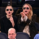 How Could Mary-Kate and Ashley Really See the Game in Those Sunglasses?