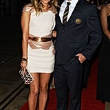 Pip Edwards and Adam Ashley-Cooper at the John Eales Medal in 2010