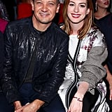 Pictured: Jeremy Renner and Anne Hathaway