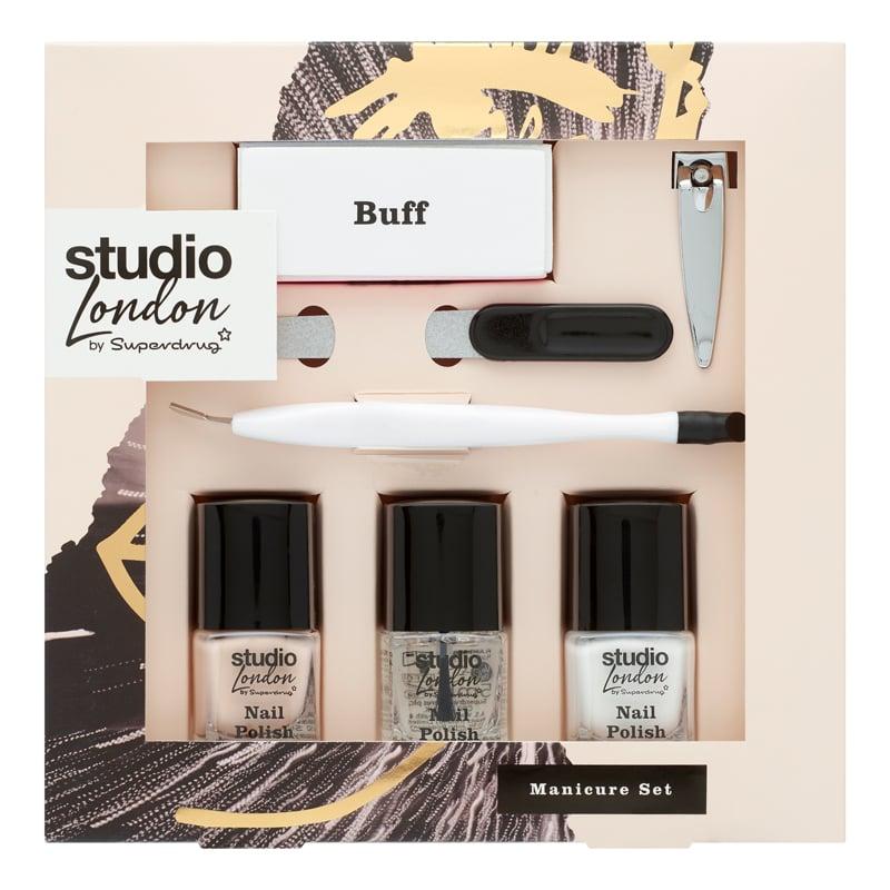 Superdrug Studio London Manicure & Nail Varnish Gift Set