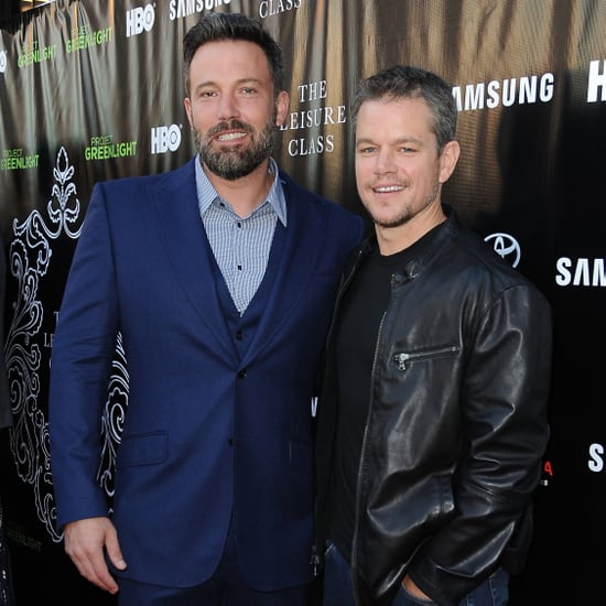 Ben Affleck Could Not Look More Thrilled to Be With His Buddy Matt Damon