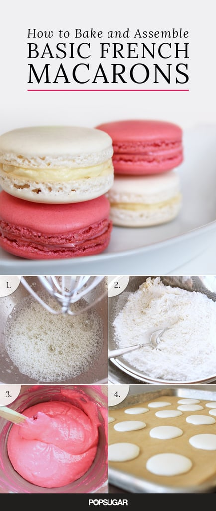 Basic French Macarons With Buttercream Filling