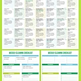 Download: Printable Crush Monthly/Weekly Cleaning Checklist
