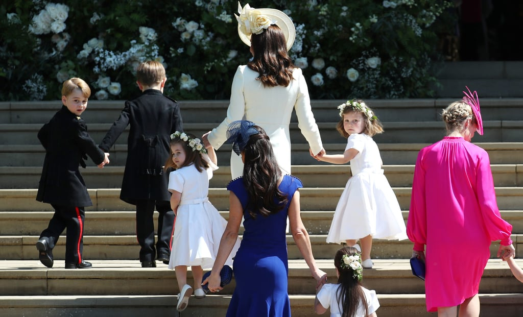 Real Royal Weddings: Kids At The Royal Wedding 2018 Pictures