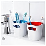 Ikea Toothbrush Holders and Towel Hook Set