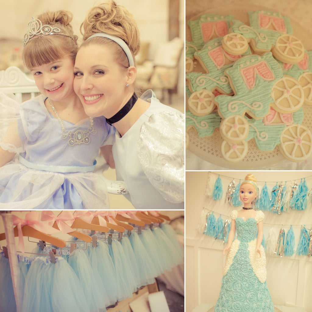 Cinderella-Themed Birthday Party