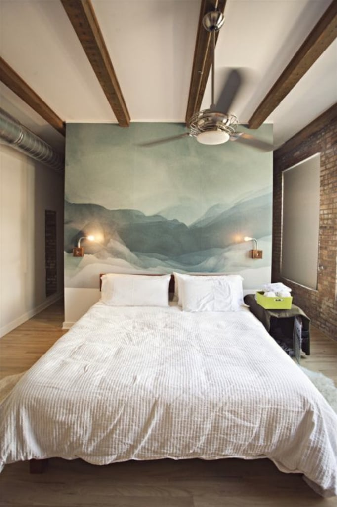 an artistic headboard sophisticated home diy projects