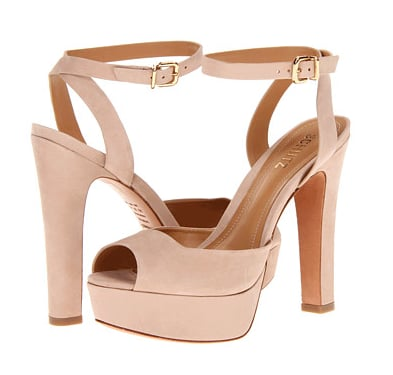 These Schutz Adelina sandals ($173, originally $192) look super high, but the platform will do all the work for you.