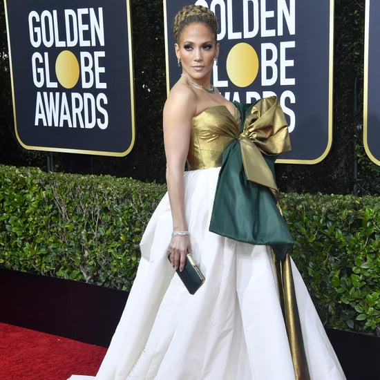 Jennifer Lopez's Valentino Bow Dress at the Golden Globes