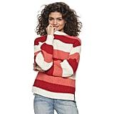 POPSUGAR Button Back Sweater
