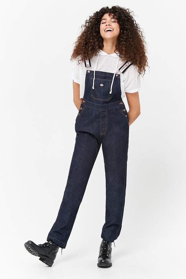 3144583cac0 Forever 21 Dickies Denim Overalls