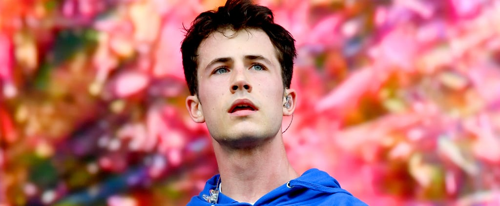 Dylan Minnette Dyed His Hair a Purple-Pink Colour