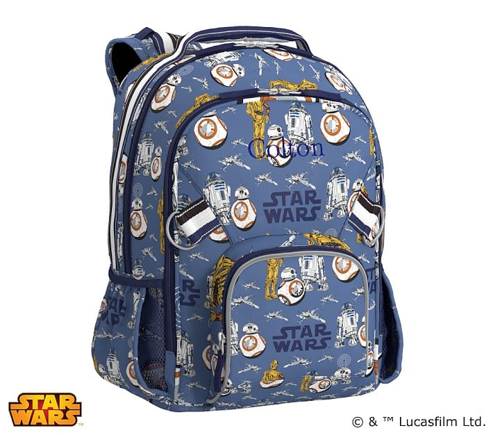 Star Wars Droids Allover Print Large Backpack