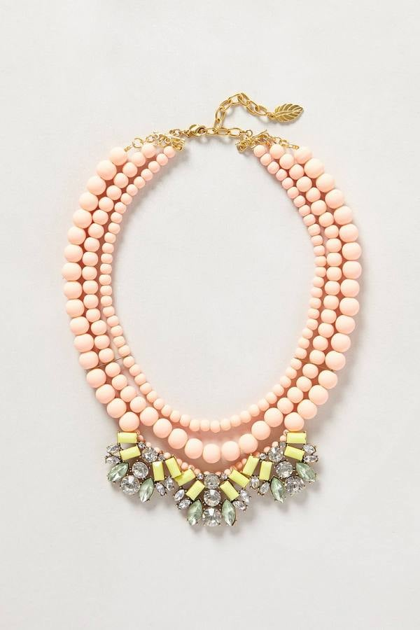 Anthropologie Bib Necklace