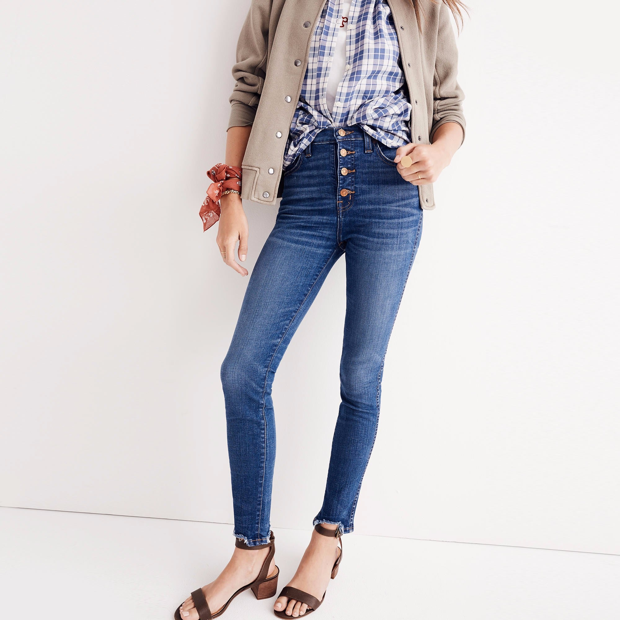 18b366c3114 Madewell Retro Crop Bootcut Jeans   Fall Outfit Ideas From Madewell    POPSUGAR Fashion Photo 4