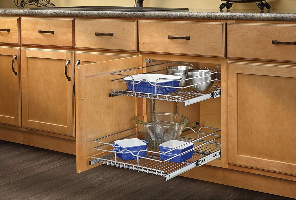Rev A Shelf Double Pullout Wire Basket Kitchen Products For Small