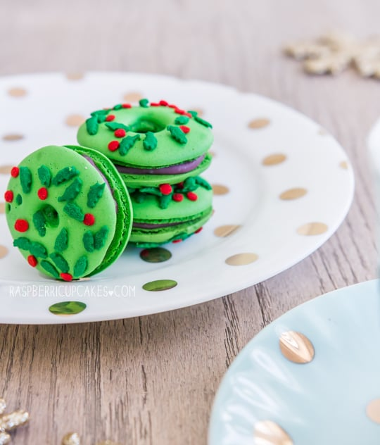 Christmas Macarons.Christmas Wreath Macarons All The Cookie Recipes You Could