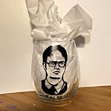Dwight Schrute Glass