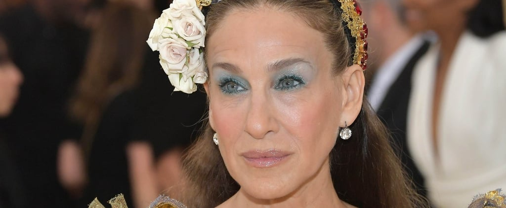 Sarah Jessica Parker's Eye Shadow at the Met Gala 2018