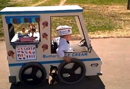 Dad Makes Halloween Costume For Wheelchair-Bound Son