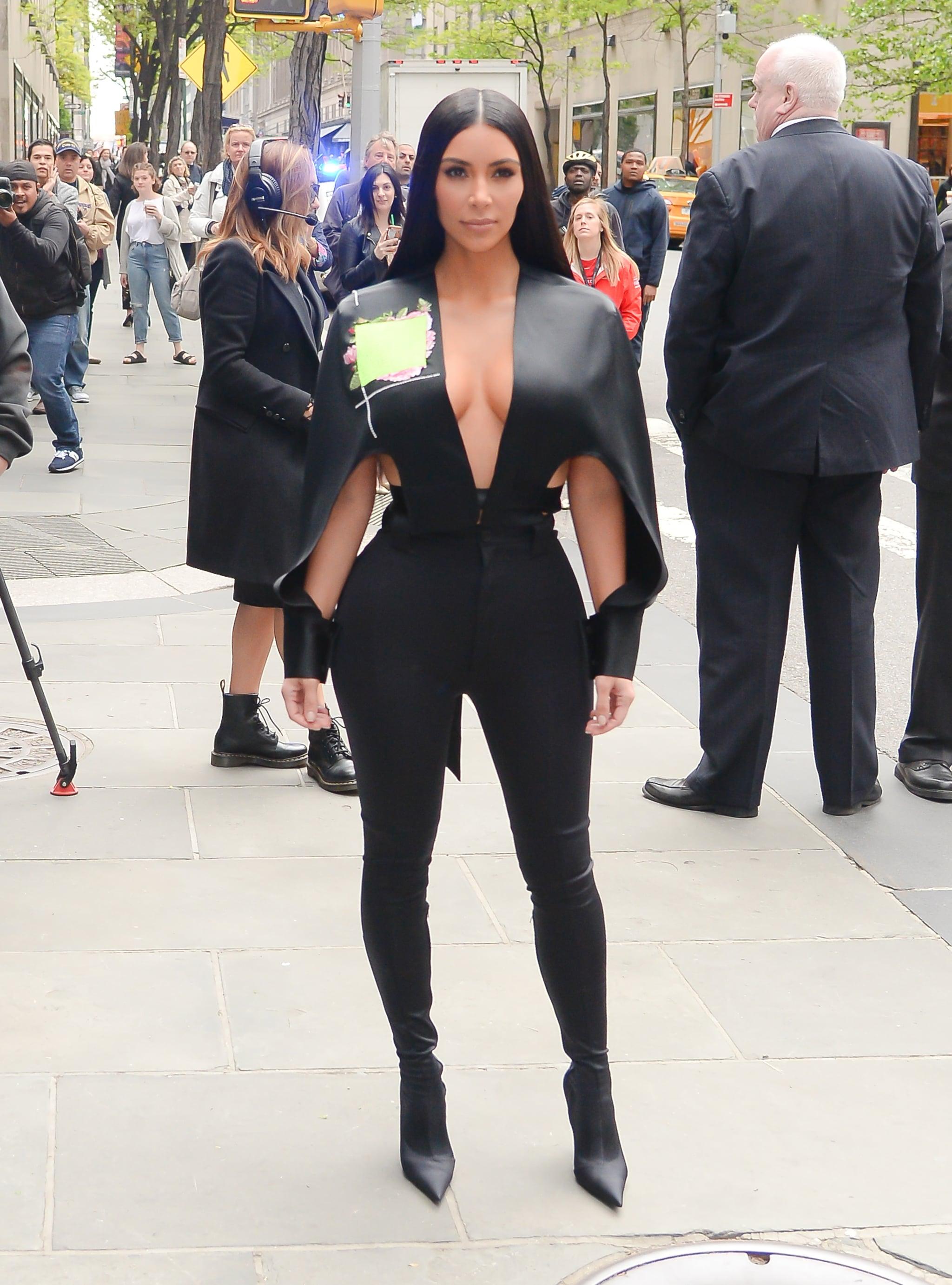 Kim Kardashian Balenciaga Boots