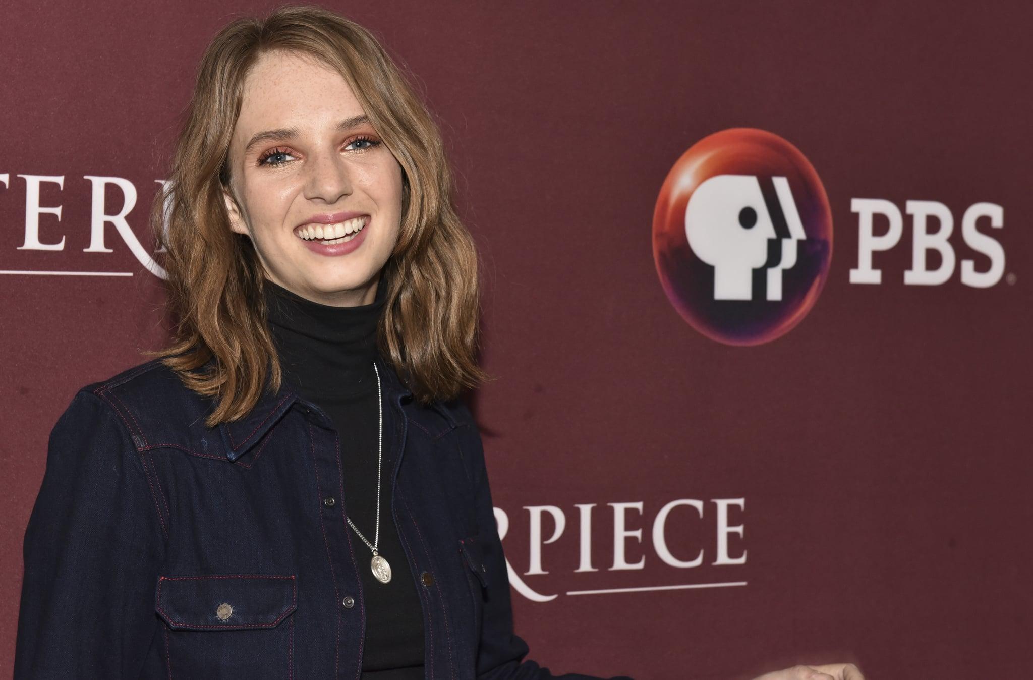 PASADENA, CA - JANUARY 16:  Actress Maya Hawke attends photo call for BBC's