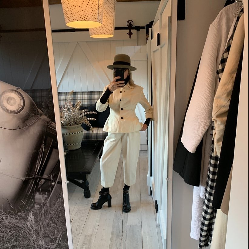 94412bed10 Diane Keaton s Instagram Outfits