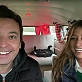 "Jimmy and Nancy filmed an entire ""Ask the Fallons"" segment inside on a rainy day."