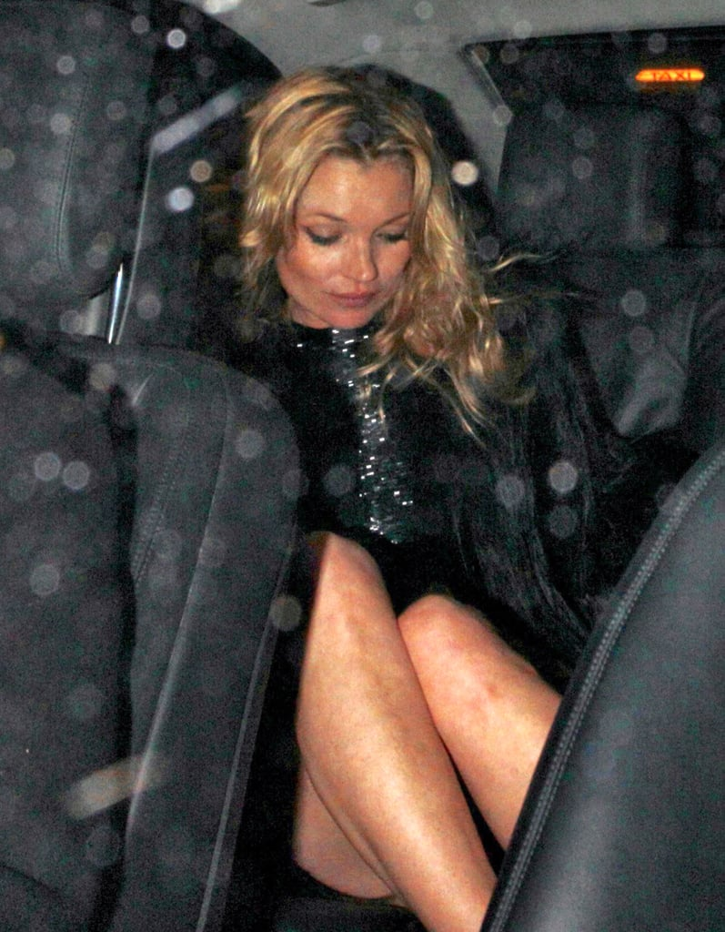 Kate Moss Celebrates Her Big Topshop Boss's Birthday and Plans Her First Wedding Bash