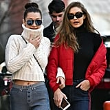 This Was the Last Item Bella Hadid Took From Sister Gigi's Closet