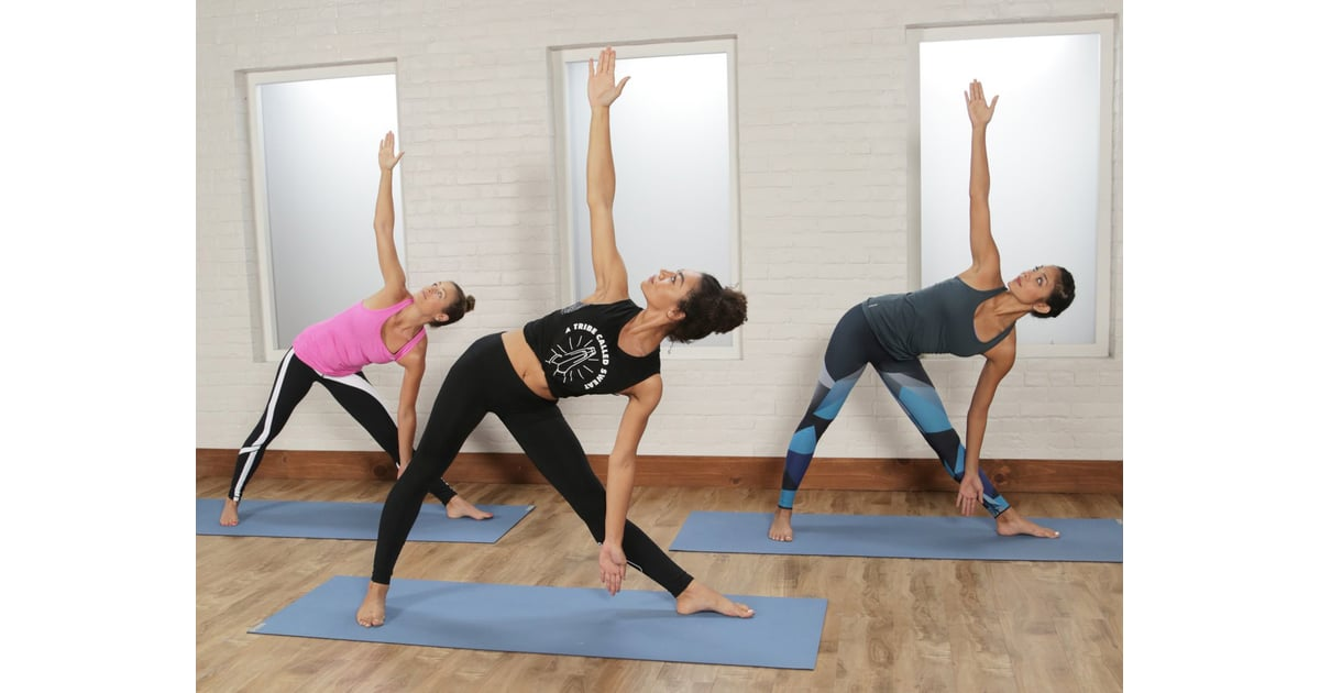 30 Minute Power Yoga Flow For Tight Abs And A Toned Butt 30 Minute Video Workouts All In 1 Place Popsugar Fitness Photo 3