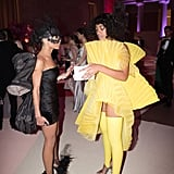 Pictured: Solange Knowles and Zoe Kravitz