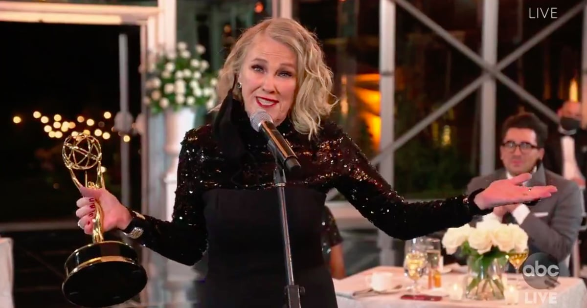 Catherine O'Hara Just Won an Emmy For Schitt's Creek, and Her Speech Was Full of Moira-isms