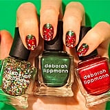 Hark! This might just be the ultimate holiday manicure. Source: Instagram user deborahlippmann