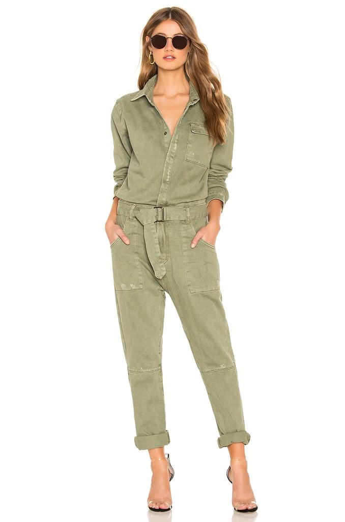 be2f6a5ab One Teaspoon Utility Jumpsuit   Victoria Beckham Green Jumpsuit ...