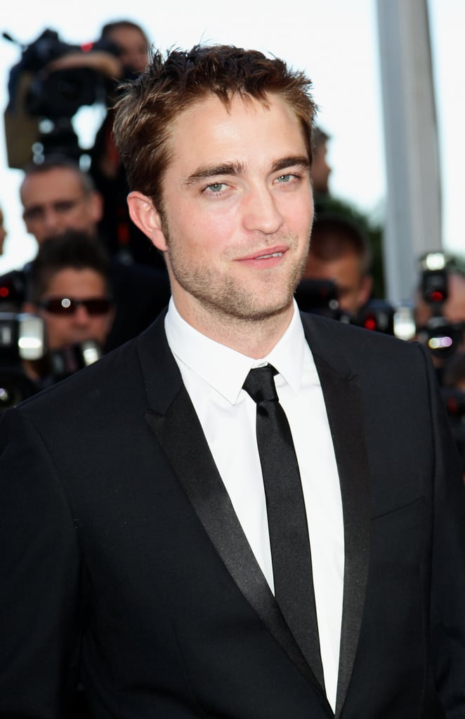 Robert Pattinson supported girlfriend Kristen Stewart at her On the Road premiere at the Cannes Film Festival.