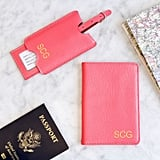 Asstd National Brand Personalized Leather Passport Holder