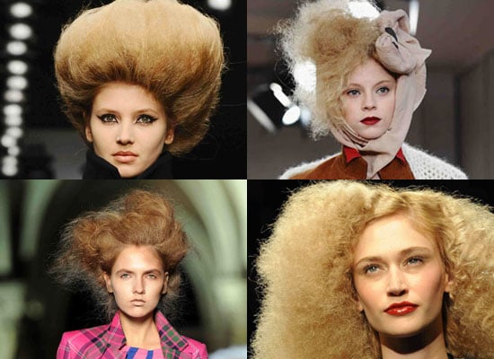 Trend Alert Pouffy Hair, London 2010 Autum Trends 2010-02-24 05:00:00