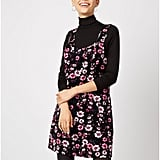 George Floral Corduroy Pinafore Dress