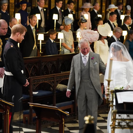 Meghan Markle Walking Down the Aisle at Royal Wedding Video