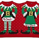 Boohoo Mr & Mrs Claus Christmas Jumper