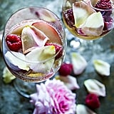 White Peach, Rose, and Raspberry Sangria