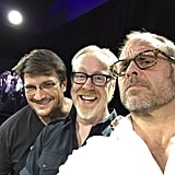 And took a selfie with Nathan Fillion and Adam Savage.